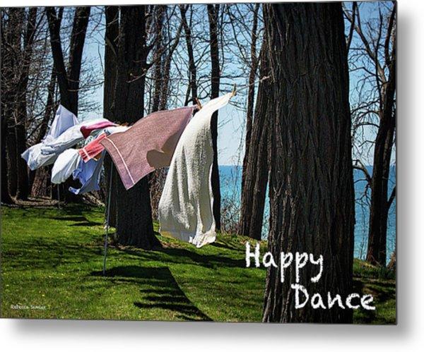 Happy Dance Metal Print