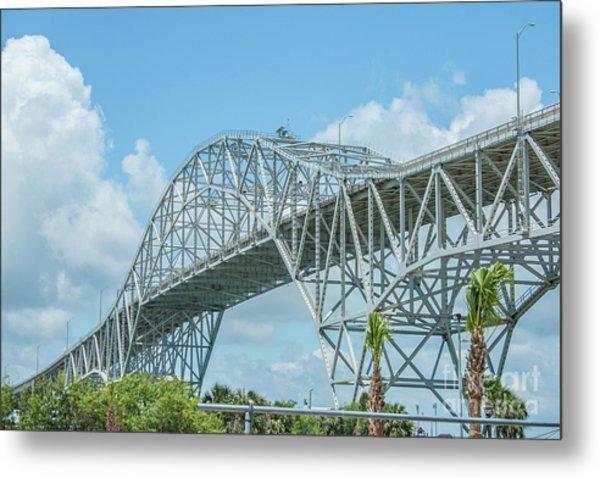 Harbor Bridge Metal Print