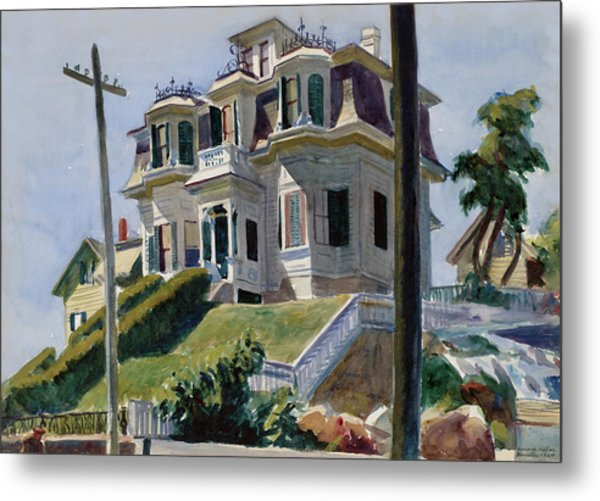 Haskell's House Metal Print