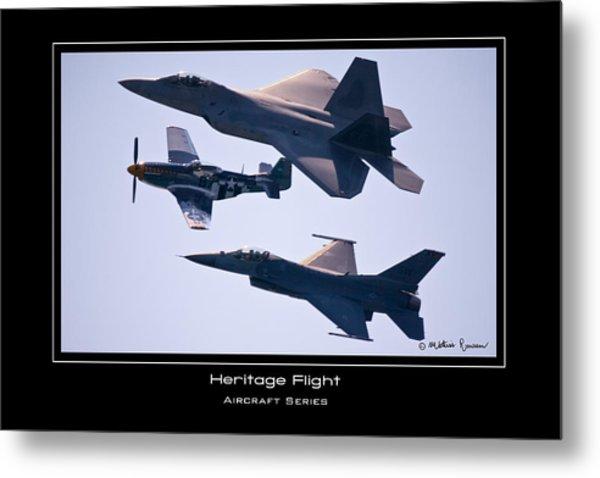 Heritage Flight Metal Print by Mathias Rousseau