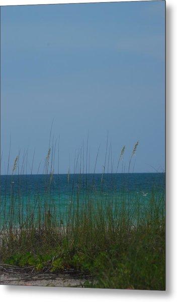 Holmes Beach Florida 2 Metal Print by Lisa Gabrius