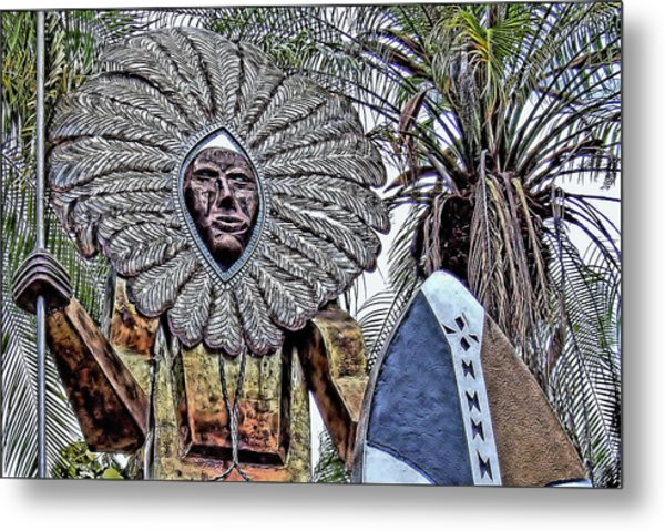 Honolulu Zoo Keeper II Metal Print