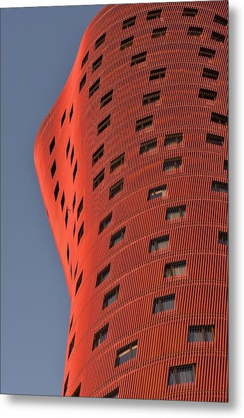 Hotel Porta Fira Barcelona Abstract Metal Print