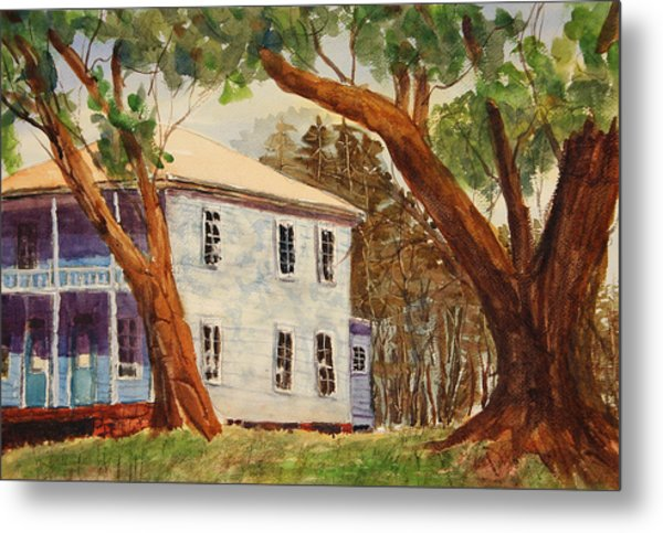House On Front Street Metal Print by Barry Jones