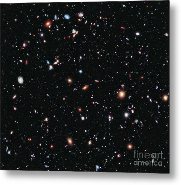 Hubble Extreme Deep Field Metal Print