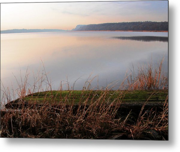 Hudson River Vista Metal Print
