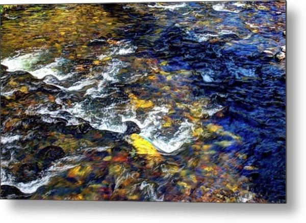 Hyalite Creek Metal Print