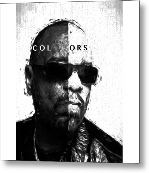 Ice-t Colors The Ganga Of La Will Never Metal Print