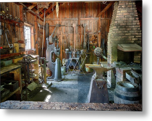Metal Print featuring the photograph Idle by David Buhler