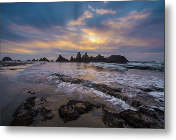 Incoming Tide 2 Metal Print