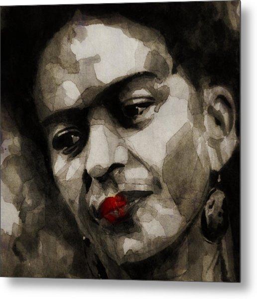 Inspiration - Frida Kahlo Metal Print