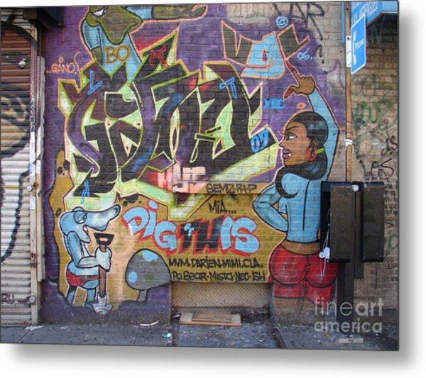 Inwood Graffiti  Metal Print