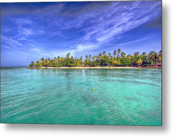 Island In The Sun Metal Print