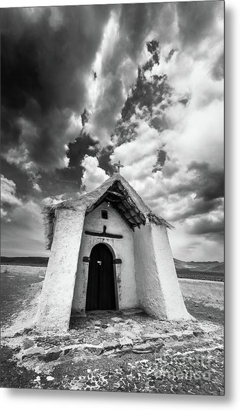 Isluga Church Metal Print