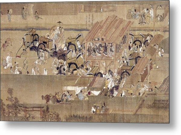Japan: Buddhist Priest Metal Print