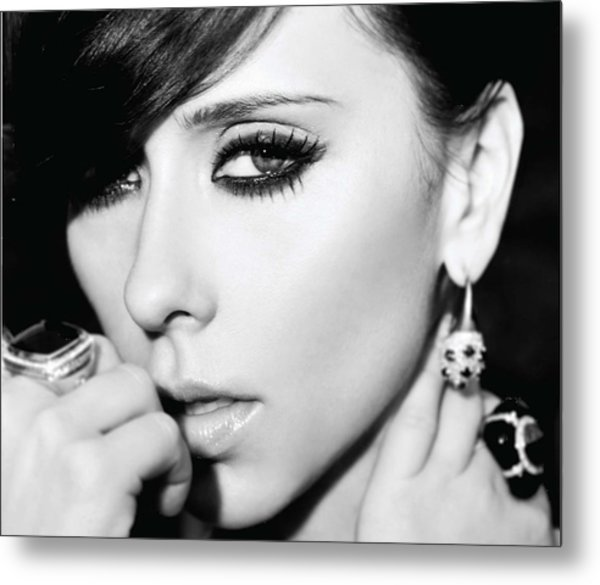 Jennifer Love Hewitt Metal Print