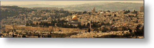 Jerusalem Metal Print by Amr Miqdadi