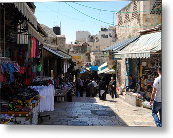 The Old City Of Jerusalem 1 Metal Print