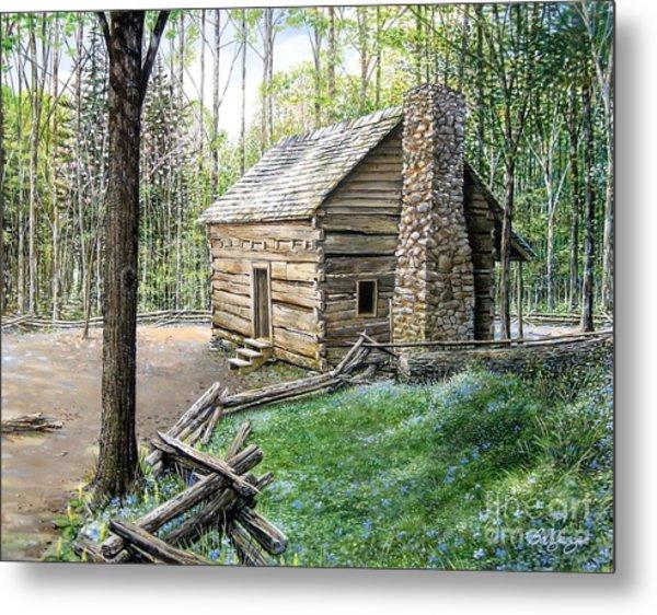 John Ownby Cabin  Metal Print