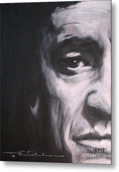 Johnny Cash 2 Metal Print