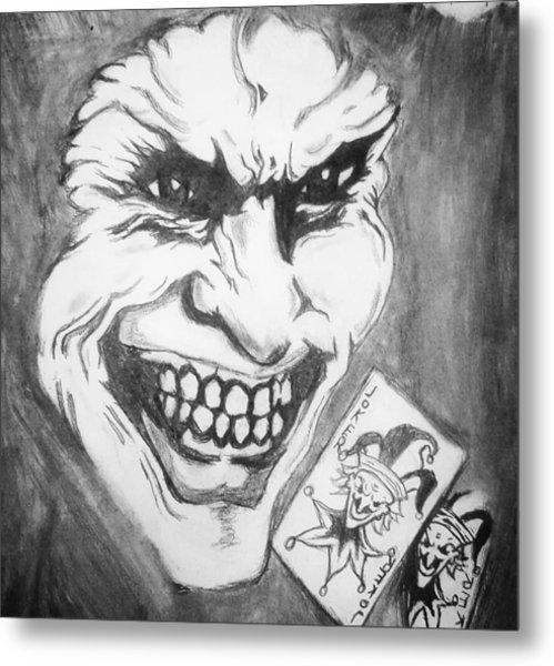 Joker Face Drawing By Ryan Williams