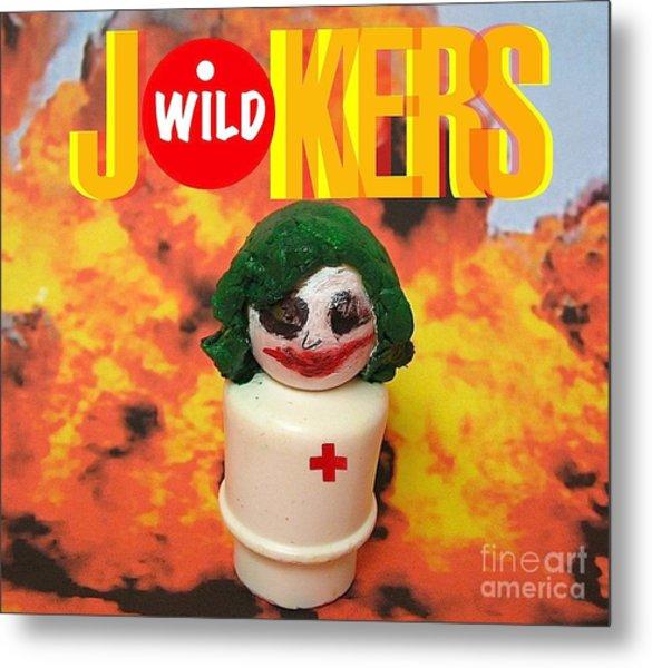 Jokers Wild Metal Print