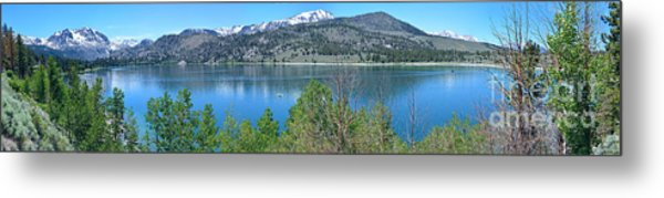 June Lake Panorama Metal Print