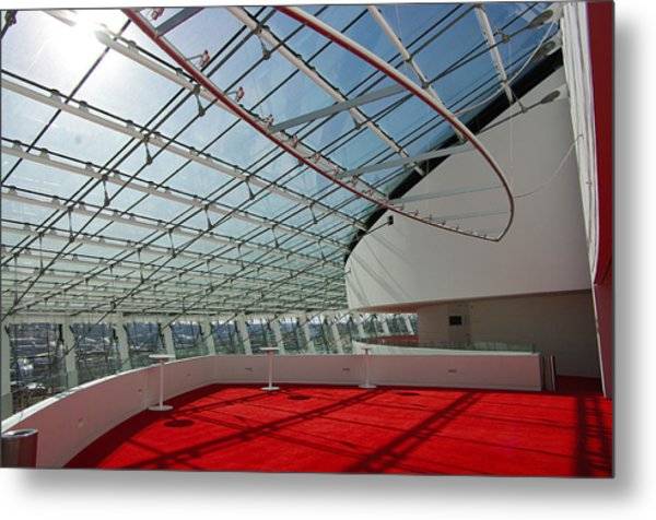 Kauffman Center For The Performing Arts Metal Print