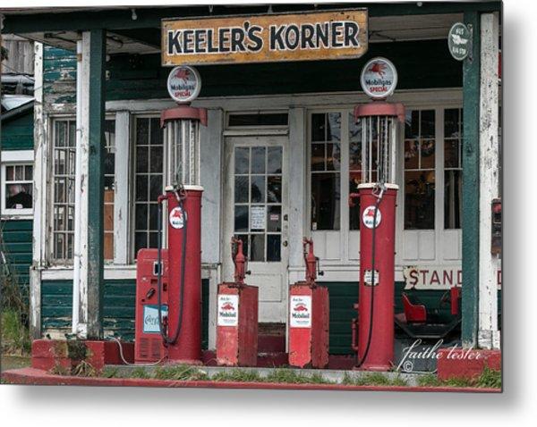 Keeler's Korner Iv Metal Print