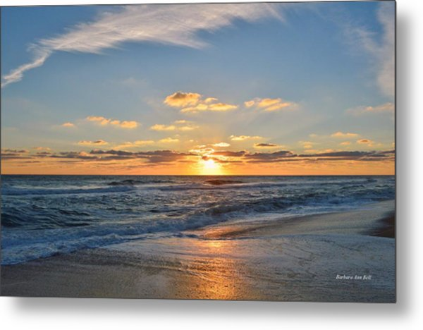 Kill Devil Hills Sunrise Metal Print