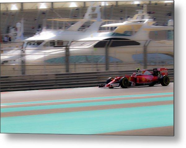 Kimi Raikkonen Ferrari Formula 1 Metal Print