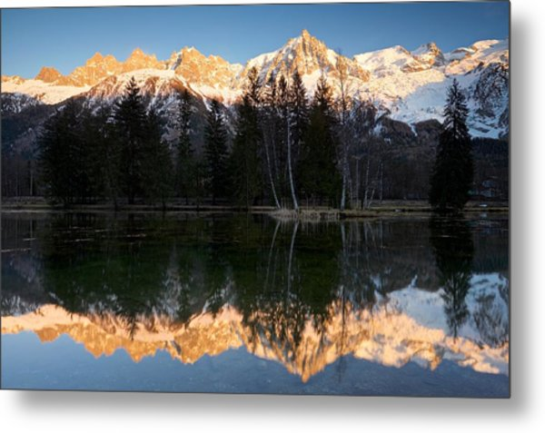 Lacs Des Gaillands Metal Print