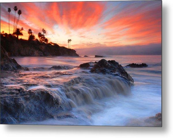 Laguna Beach Sunrise Metal Print