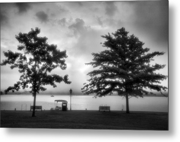 Lakeside Park I Metal Print by Steven Ainsworth