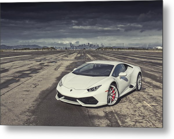 Metal Print featuring the photograph Lamborghini Huracan by ItzKirb Photography
