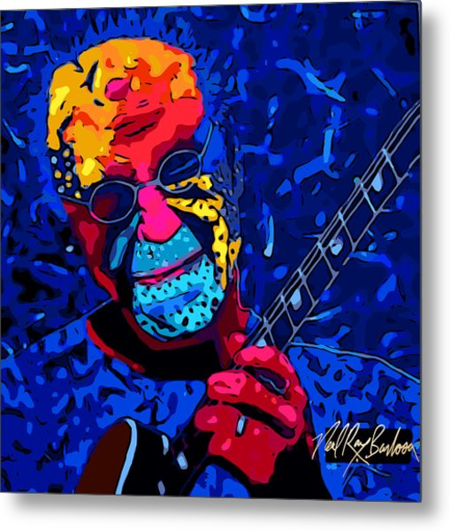 Larry Carlton Metal Print
