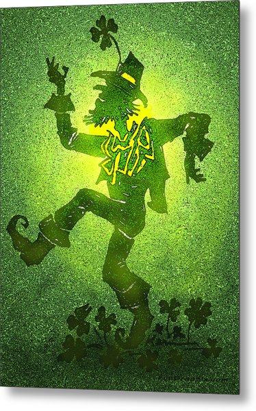 Leprechaun Metal Print