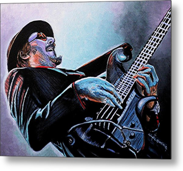 Les Claypool Metal Print