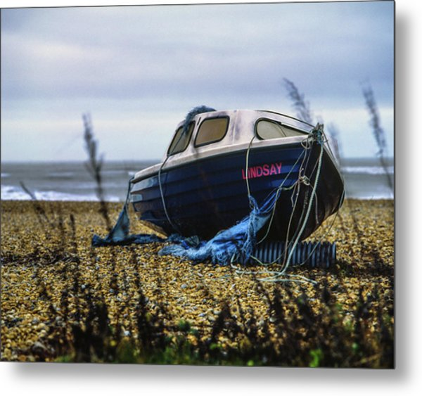 Metal Print featuring the photograph Lindsay by Will Gudgeon
