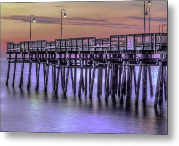 Little Island Pier Metal Print
