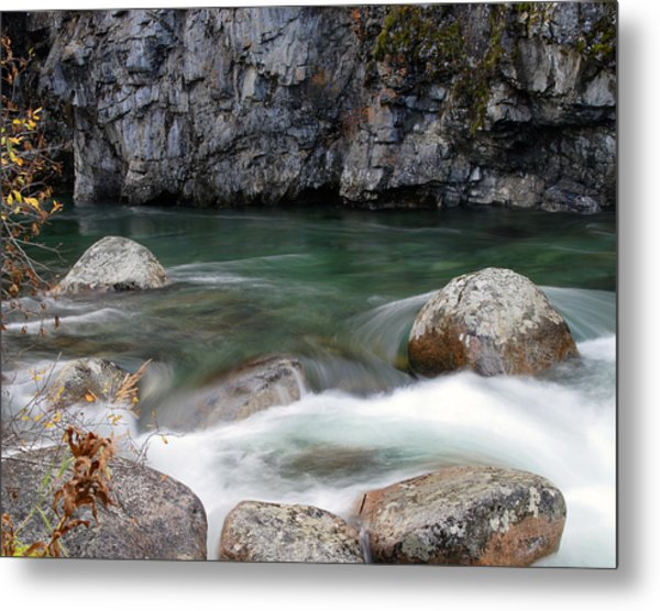 Little Susitna River Metal Print