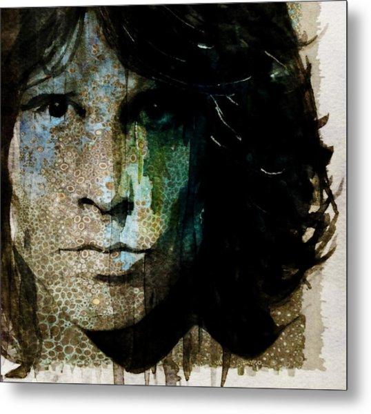 Lizard King / Jim Morrison Metal Print