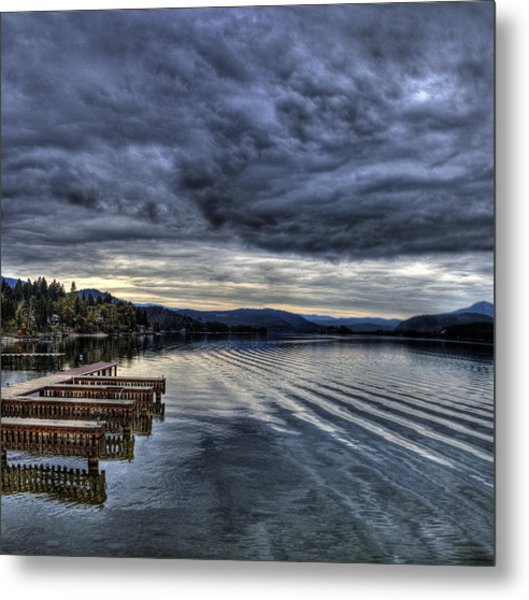 Looking West From 41 South Metal Print