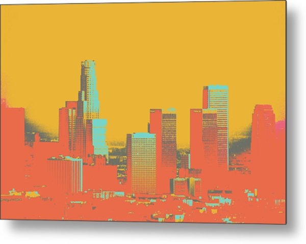Los Angeles Metal Print by Shay Culligan
