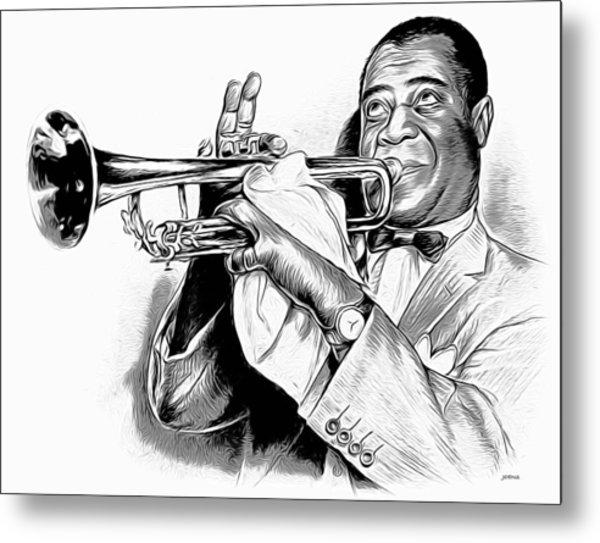 Louis Armstrong Metal Print
