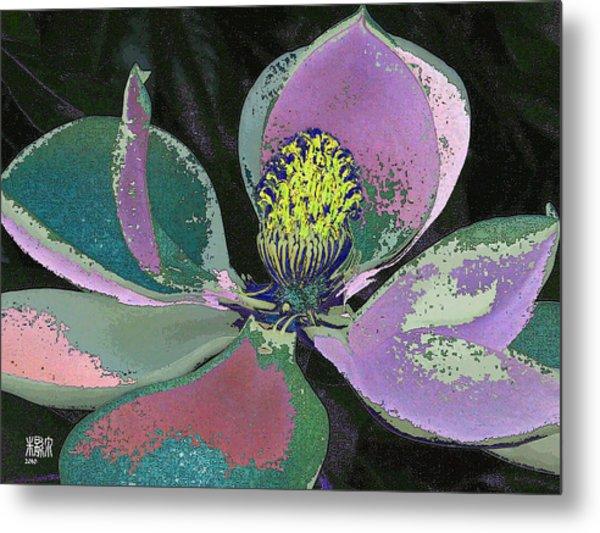 Magnolia Metal Print by Michele Caporaso