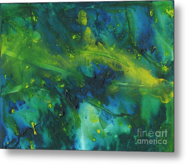 Marine Forest Metal Print