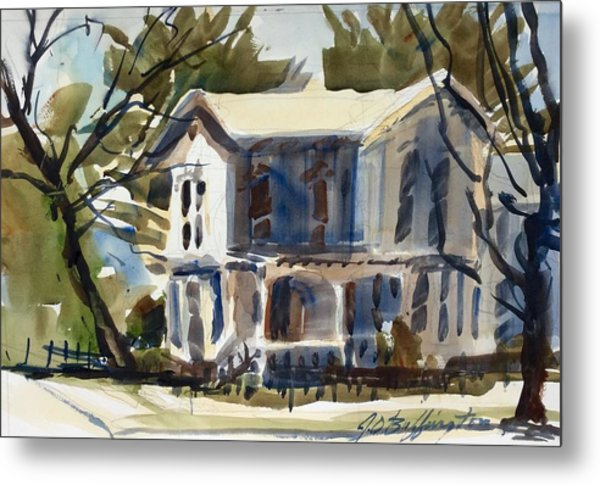 Mary Eck's House  Metal Print