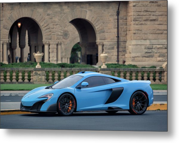Metal Print featuring the photograph #mclaren #675lt With #pirelli #tires by ItzKirb Photography