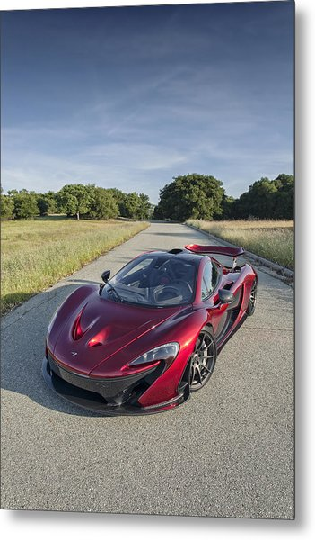 Metal Print featuring the photograph Mclaren P1 by ItzKirb Photography